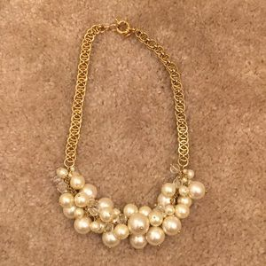 J Crew Chunky Pearl Necklace